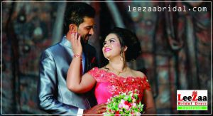 wedding dresses in kandy,leezaa bridal, wedding frock in kandy,colour bridal frock, bridal frock in kandy